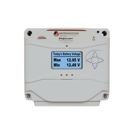 Morningstar Corporation ProStar MPPT charge controller
