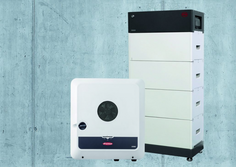 Residential storage option with BYD battery, Fronius inverter