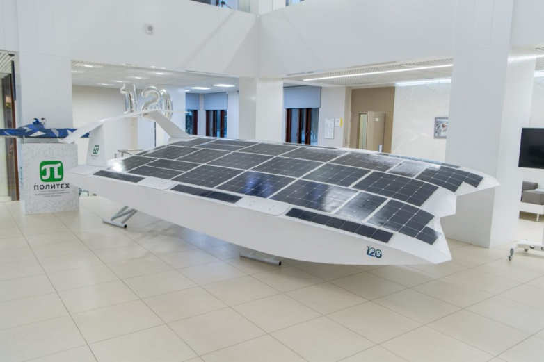 World's initial self-drifting solar boat