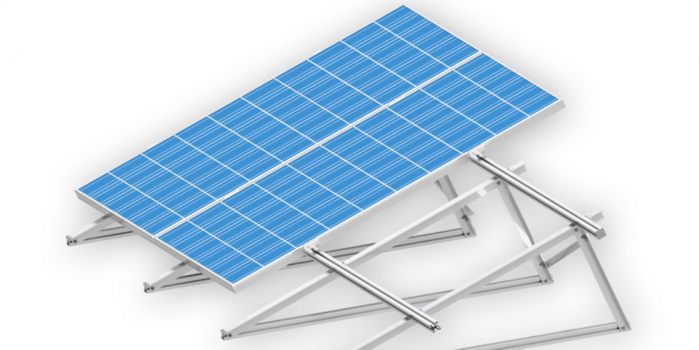 A flexible mounting system for roof PV systems