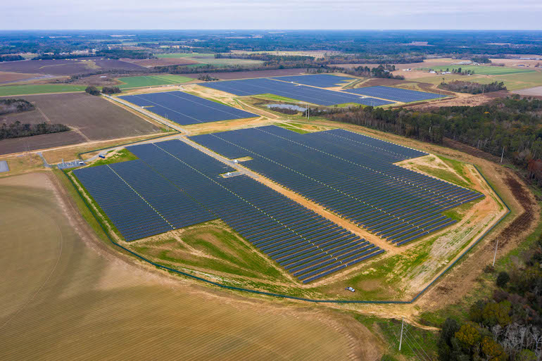 Two additional Georgia solar projects powering Facebook information center currently operational
