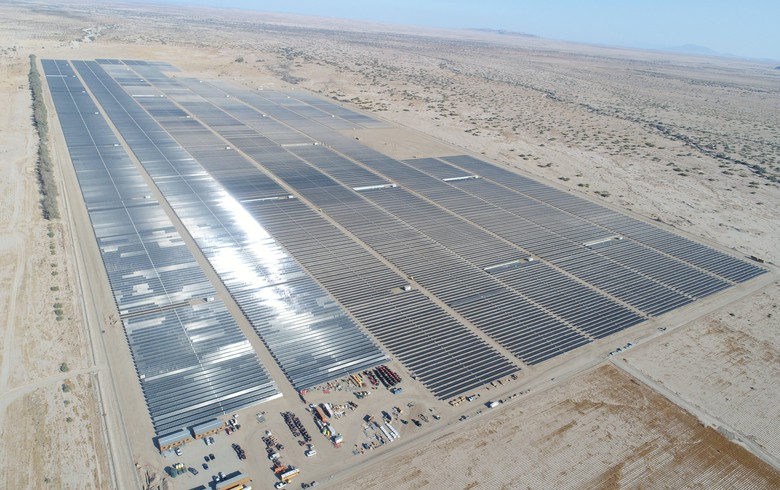 Sunpin protects hedge for 70-MW solar park in The golden state